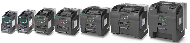 Семейство преобразователей частоты серии SINAMICS V20.